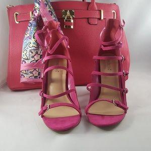 Shoe Dazzle Seidy Heeled Sandle